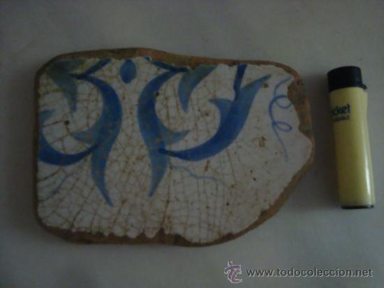 Antigüedades: magnifica coleccion de azulejos pintados a mano y restos de ceramicas muy antiguas una pickman, ver - Foto 31 - 32717748