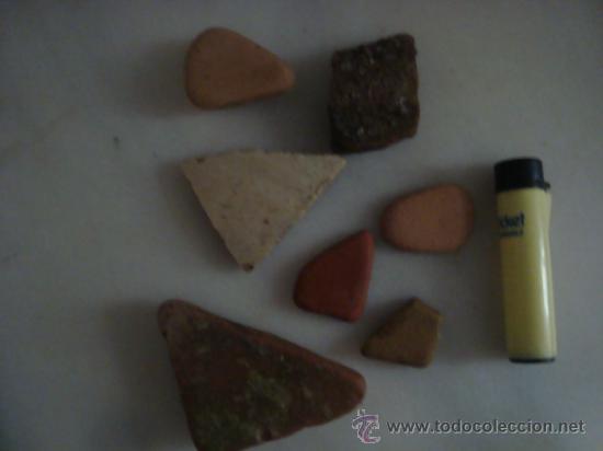 Antigüedades: magnifica coleccion de azulejos pintados a mano y restos de ceramicas muy antiguas una pickman, ver - Foto 26 - 32717748
