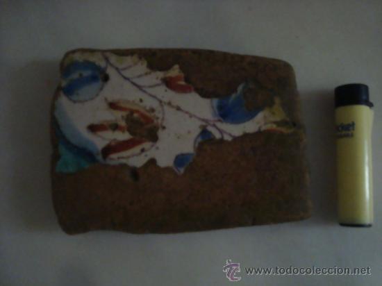 Antigüedades: magnifica coleccion de azulejos pintados a mano y restos de ceramicas muy antiguas una pickman, ver - Foto 25 - 32717748