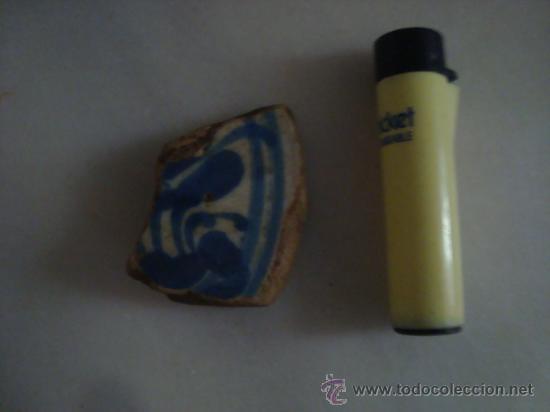 Antigüedades: magnifica coleccion de azulejos pintados a mano y restos de ceramicas muy antiguas una pickman, ver - Foto 19 - 32717748