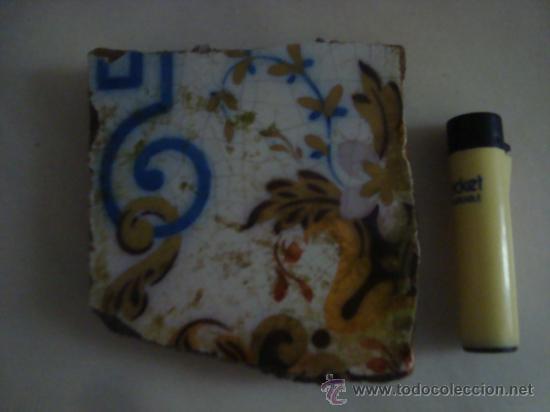 Antigüedades: magnifica coleccion de azulejos pintados a mano y restos de ceramicas muy antiguas una pickman, ver - Foto 17 - 32717748