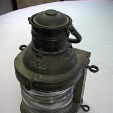 Antigüedades: FAROL LATON. Lote 32761264