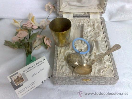 Antigüedades: ANTIGUO JUEGO PARA NIÑO, EN SU ESTUCHE ORIGINAL. - Foto 3 - 32775375