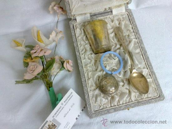 Antigüedades: ANTIGUO JUEGO PARA NIÑO, EN SU ESTUCHE ORIGINAL. - Foto 2 - 32775375