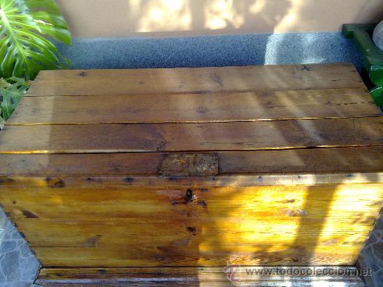 Antigüedades: antiquisima arca de madera - Foto 2 - 32777297