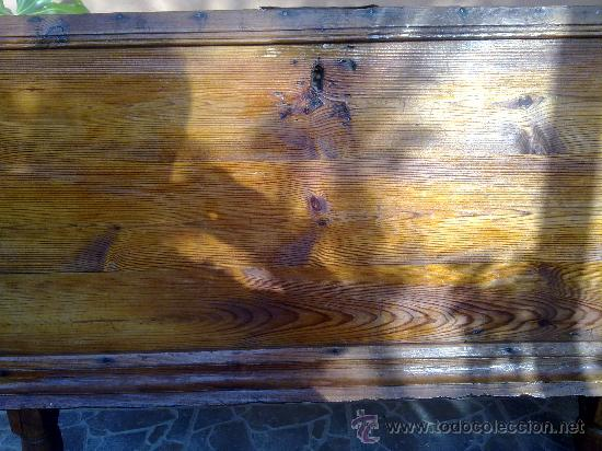Antigüedades: antiquisima arca de madera - Foto 3 - 32777297