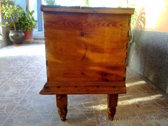 Antigüedades: antiquisima arca de madera - Foto 4 - 32777297