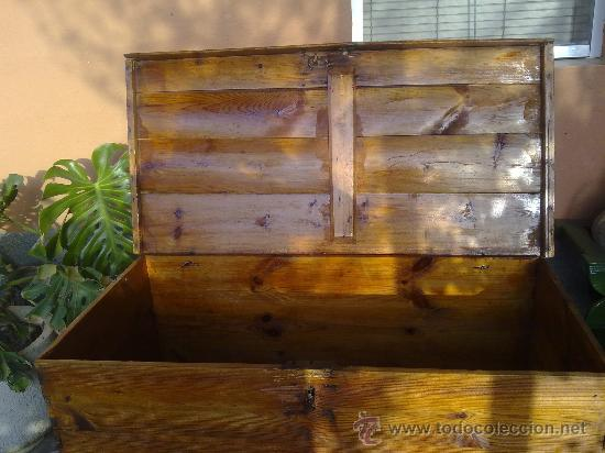 Antigüedades: antiquisima arca de madera - Foto 7 - 32777297
