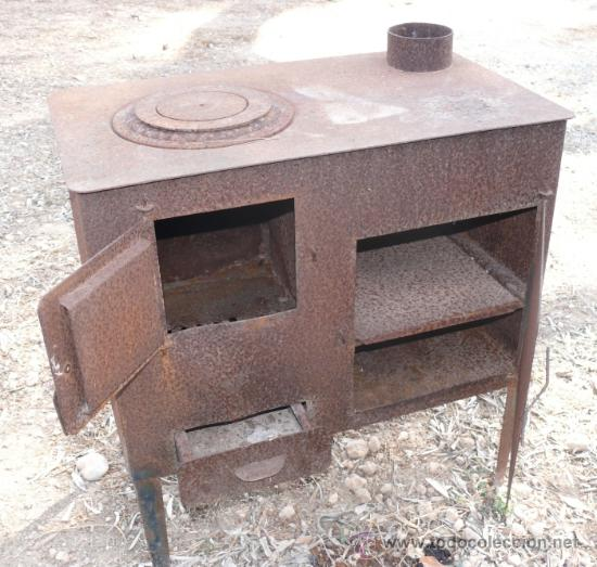 Antigua cocina de hierro completa ideal decora comprar for Utensilios de hogar