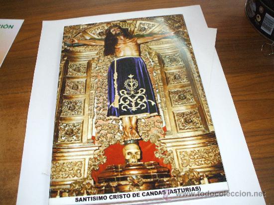 AZULEJO SANTO CRISTO DE CANDAS ASTURIAS MIDE 30 X20 ESTA NUEVO DE TIENDA ,VER FOTO ADICIONAL (Antigüedades - Religiosas - Varios)