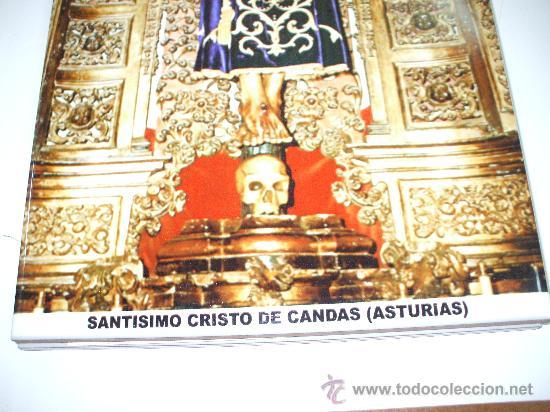 Antigüedades: Azulejo Santo Cristo de Candas Asturias mide 30 x20 esta nuevo de tienda ,ver foto adicional - Foto 2 - 32807575