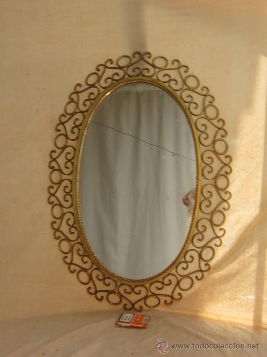 Venta de espejos antiguos best antigedades muebles - Espejos antiguos de pared ...
