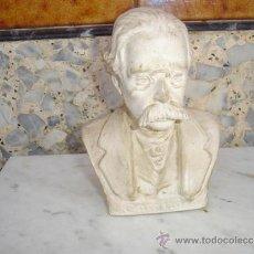 Antigüedades: BUSTO EN CERAMICA CAMILO. Lote 32816334