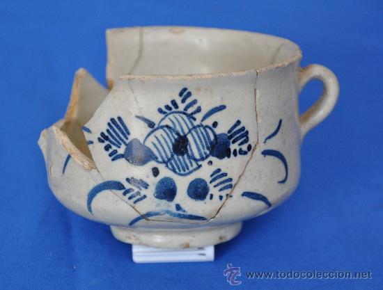 Antigüedades: Loza de Triana de pétalos rayados del siglo XVIII. - Foto 2 - 32815554