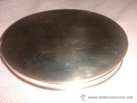 ESPEJO PARA BOLSO DE PLATA (Antigüedades - Moda y Complementos - Mujer)