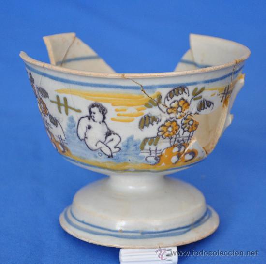 LOZA DE TRIANA DEL S. XVIII. (Antigüedades - Porcelanas y Cerámicas - Triana)