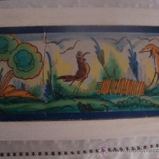 Antigüedades: AZULEJO RAMOS REJANO. Lote 32861315