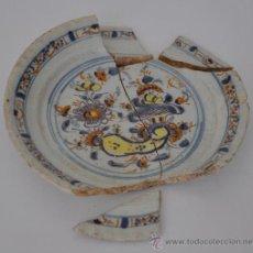 Antigüedades: LOZA DE TRIANA DE RAMILLETE DEL SIGLO XVIII.. Lote 32864585