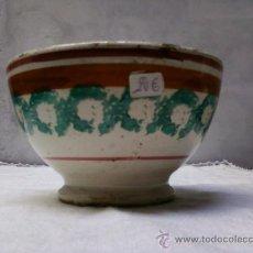 Antigüedades: TAZA O CUENCO. Lote 32878352