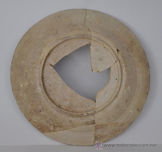 Antigüedades: Plato de Triana (Sevilla) del s. XVIII. - Foto 2 - 32866077