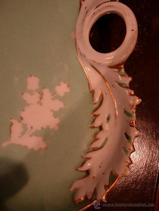 Antigüedades: PRECIOSA BANDEJA VIEJO PARIS CON UNOS BONITOS COLORES - Foto 5 - 32905917