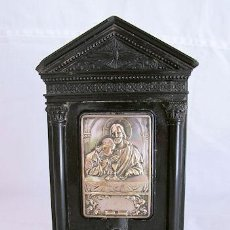 Antigüedades: CAPILLITA ANTIGUA BAQUELITA LA ULTIMA CENA. Lote 32915081