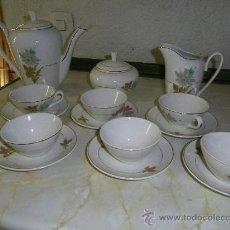 Antigüedades: JUEGO DE CAFE SAN CLODIO-OVIEDO. Lote 32926781