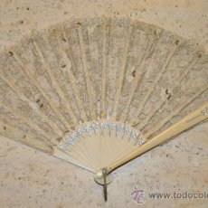 Antigüedades: ANTIGUO ABANICO DE CELULOIDE. Lote 32942121