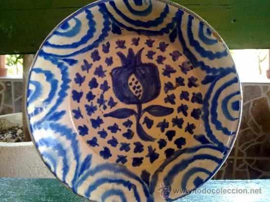 ANTIGUA FUENTE DE FAJALAUZA (Antigüedades - Porcelanas y Cerámicas - Fajalauza)
