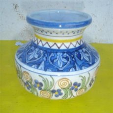Antigüedades: PEQUEÑO JARRÓN FIRMADO. Lote 32954868