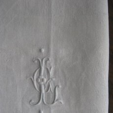 Antigüedades: ANTIGUO MANTEL DE ALGODÓN ADAMASCADO PPIO. S. XX. Lote 32955914