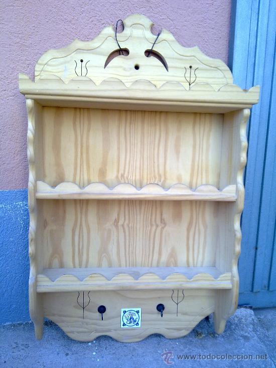 Muebles Antiguos Madera Maciza : Preciosa platera en madera maciza comprar muebles