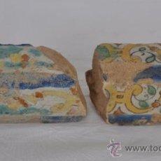 Antigüedades: FRAGMENTOS DE ALÍZARES DEL SIGLO XVIII. TRIANA (SEVILLA) Nº 4. Lote 32990718