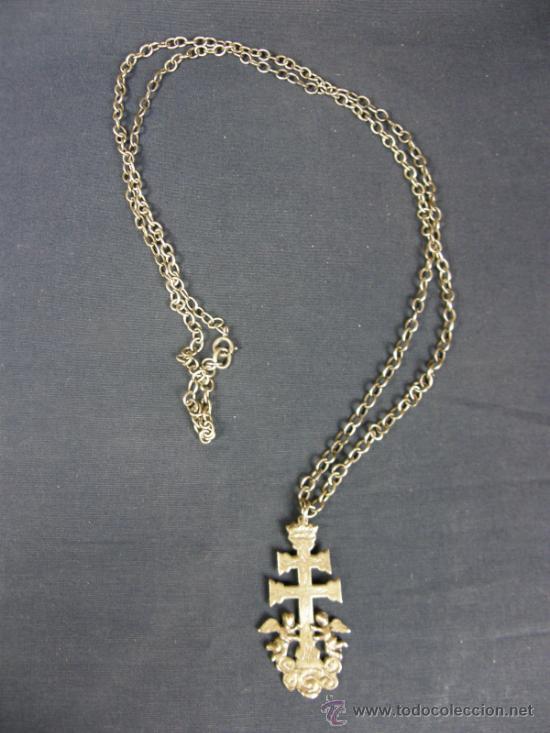 Cruz de caravaca plata cadena plata sxix cruz 6 comprar plata de ley antigua en todocoleccion - Cuberterias de plata precios ...
