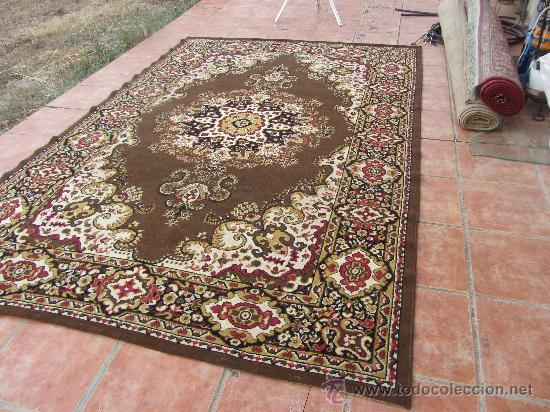 Antigua alfombra tonos rojos y marrones bien c comprar for Antigua alfombras