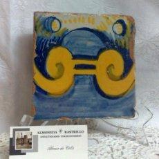 Antigüedades: ANTIGUO AZULEJO DE COLECCIÓN.. Lote 33034759