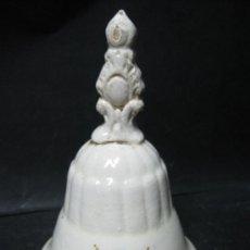 Antigüedades: ANTIGUA CAMPANA CERAMICA VALENCIANA. Lote 33049173