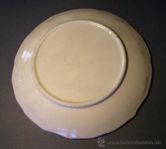 Antigüedades: PLATO CERAMICA MANISES TIPO ALCORA - Foto 5 - 33057934
