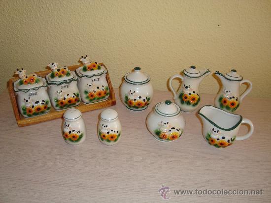 Juego de utensilios de cocina tarros botes comprar for Utensilios de cocina de ceramica