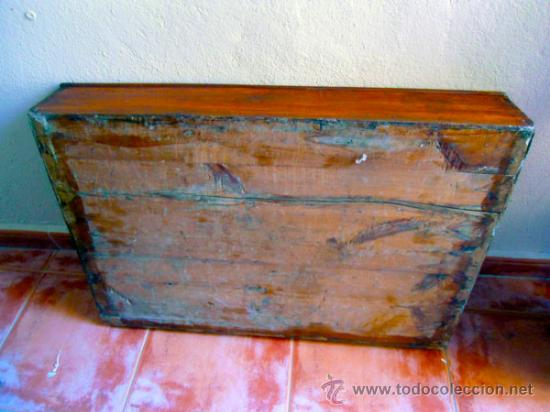 Antigüedades: EXPOSITOR ANTIGUO REALIZADO EN MADERA PINO-TRANSPORTE INCLUIDO ESPAÑA - Foto 3 - 33079548