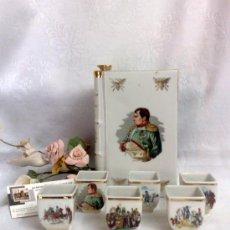 Antigüedades: LIMOGES.-FRANCIA. COÑAC NAPOLEÓN.. Lote 33110261