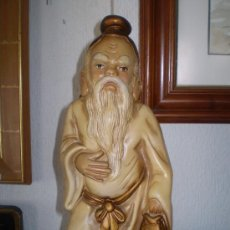 Antigüedades: CHINO DE ESCAYOLA PINTADA. Lote 33218175