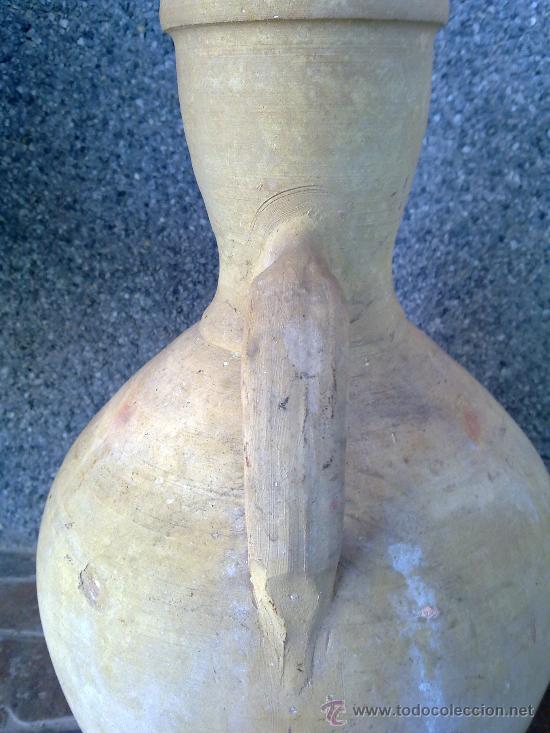 Antigüedades: antiguo y precioso cantaro de agua de alcora - Foto 5 - 33225652