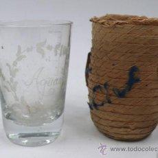 Antigüedades: VASO DE BALNEARIO, AGUAS DE TONA, CATALUÑA. 9 CM DE ALTO, . 1900'S.. Lote 33235447