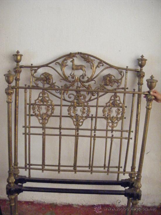 Cama de bronce antigua original comprar camas antiguas - Camas de forja antiguas ...
