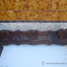 Antigüedades: PERCHERO DE PARED RUSTICO. Lote 33261331