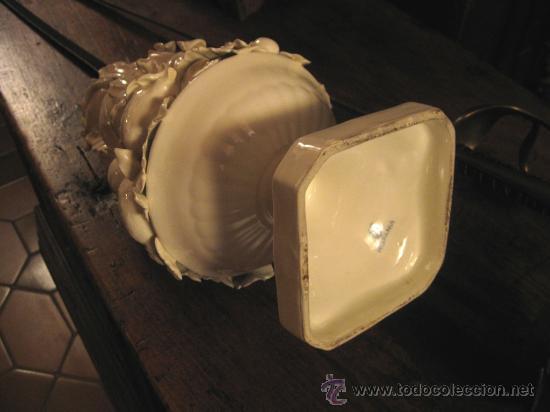Antigüedades: Jarro con frutas de porcelana blanca imperio - Foto 4 - 27555103