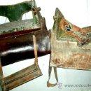 Antigüedades: SILLAS 2 MONTAR PARA DAMAS.ANTIGUAS,FIRMADAS EN ALBA DE TORMES. ESTILO CHARRO... Lote 87641418