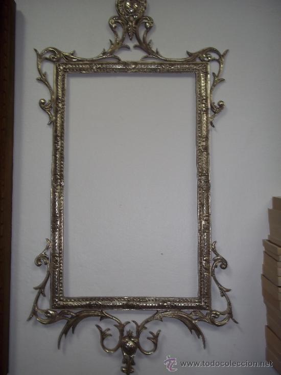 Marcos para espejo espejo diy con madera reciclada un for Espejos con marco metalico