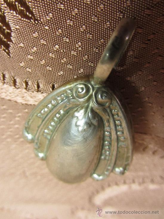 Antigüedades: Bello sonajero en plata de ley punzonada / Circa 1930 - Foto 6 - 33335277